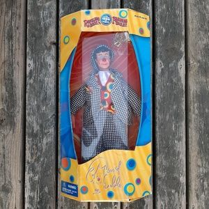 Ringling Bros. David Larible Clown Doll NEW in Box